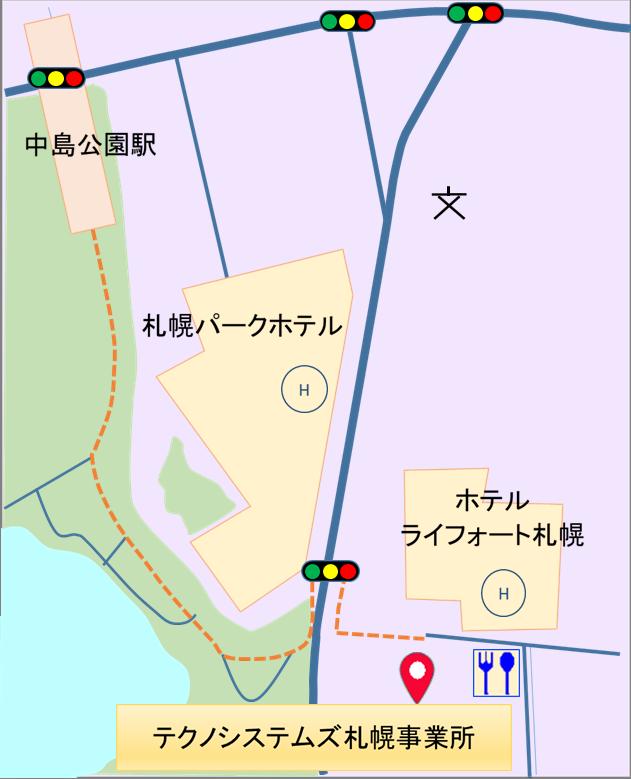 札幌事業所マップ