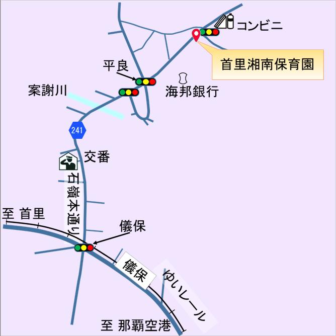 沖縄連絡所マップ